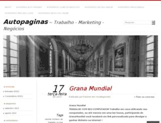autopaginas.wordpress.com screenshot