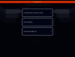 autopark-gebrauchtwagenzentrum.de screenshot