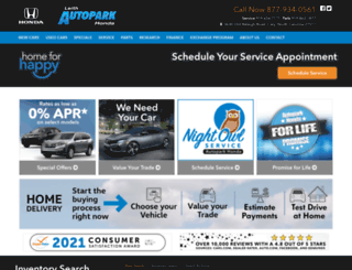 autoparkhonda.com screenshot