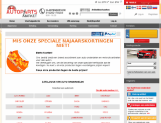 autopartsmarket.co.nl screenshot