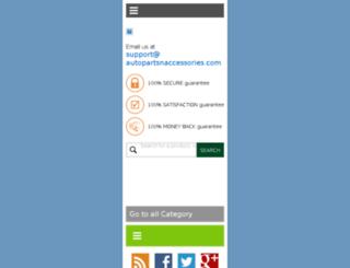 autopartsnaccessories.com screenshot