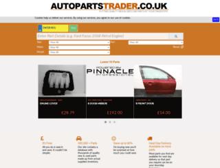 autopartstrader.co.uk screenshot