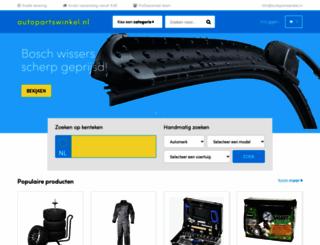 autopartswinkel.nl screenshot