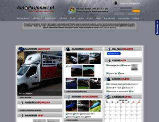 autopasjonaci.pl screenshot