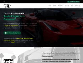 autopecasnobreza.com.br screenshot
