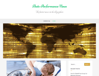 autoperformancenews.com screenshot
