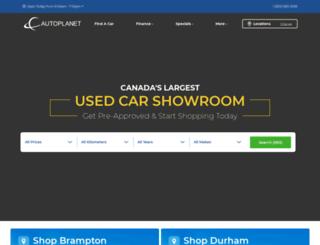autoplanetdirect.ca screenshot