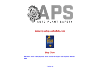 autoplantsafety.com screenshot