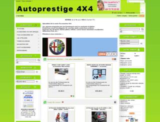 autoprestige-4x4.fr screenshot