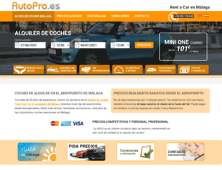 autopro.es screenshot