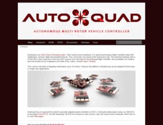 autoquad.org screenshot