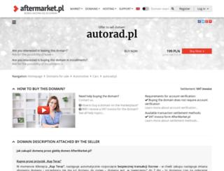 autorad.pl screenshot