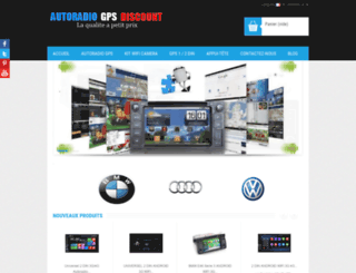 autoradio-gps-discount.com screenshot