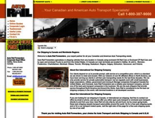 autorail.com screenshot