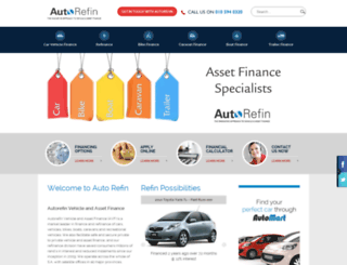 autorefin.co.za screenshot