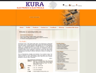 autorelaysindia.com screenshot