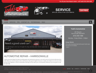 autorepairharrisonville.com screenshot