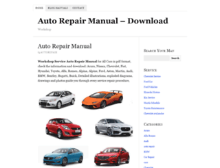 autorepairmanualdownload.com screenshot