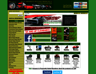 autorepairmanuals.biz screenshot