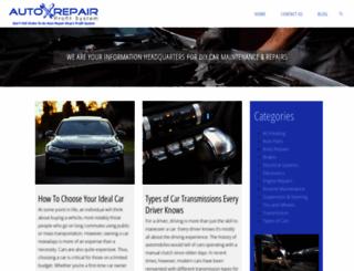 autorepairprofitsystem.com screenshot