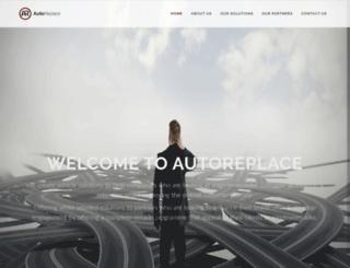 autoreplace.co.uk screenshot
