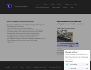 autorijschool-dpost.nl screenshot