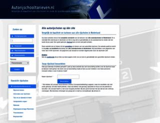 autorijschooltarieven.nl screenshot