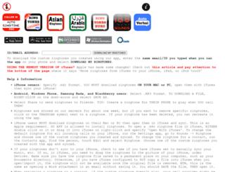 autoringtone.com screenshot