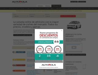 autorola.es screenshot