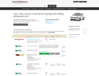 autorola.ie screenshot