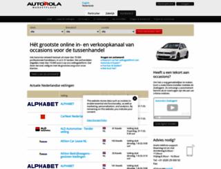 autorola.nl screenshot