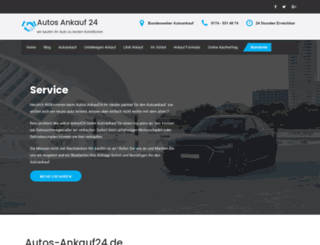 autos-ankauf24.de screenshot
