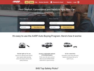 autos.aarp.org screenshot