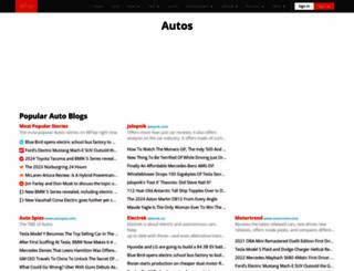 autos.alltop.com screenshot