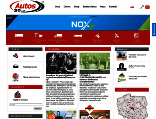 autos.com.pl screenshot