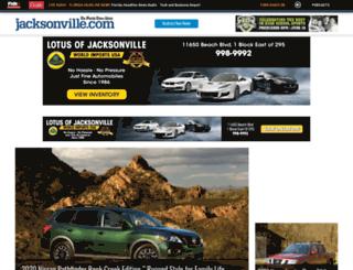 autos.jacksonville.com screenshot