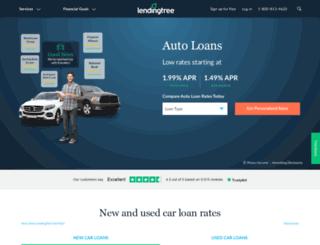autos.lendingtree.com screenshot