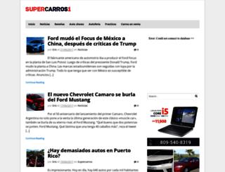 autos.supercarros1.com screenshot