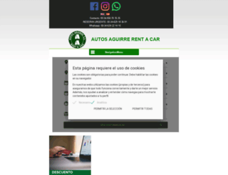 autosaguirre.com screenshot
