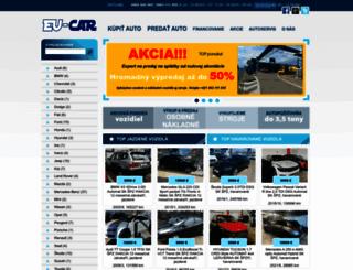 autosalonkrska.sk screenshot