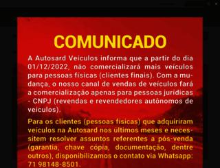 autosardveiculos.com.br screenshot