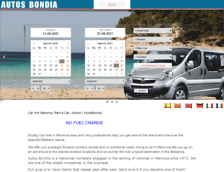 autosbondia.com screenshot