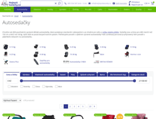 autosedacky.detske-kocarky.eu screenshot