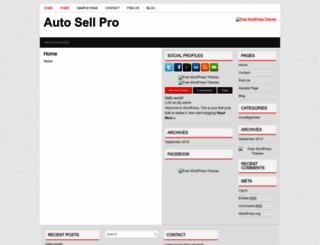 autosellpro.com screenshot