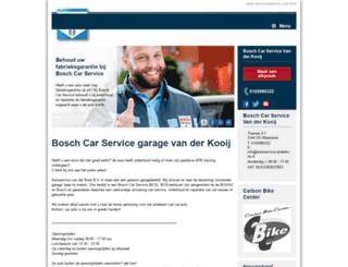 autoservicevanderkooij.nl screenshot