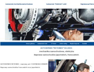 autoserwis-radan.pl screenshot