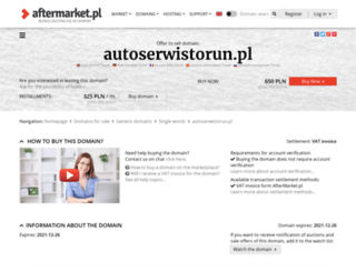autoserwistorun.pl screenshot