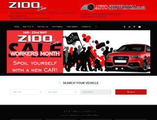 autoshowroom.co.za screenshot
