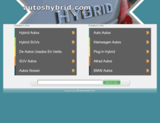 autoshybrid.com screenshot