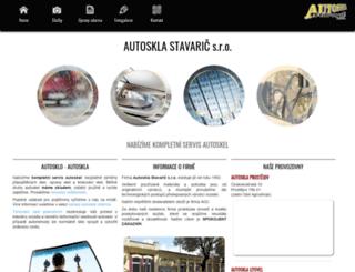 autoskla-stavaric.cz screenshot